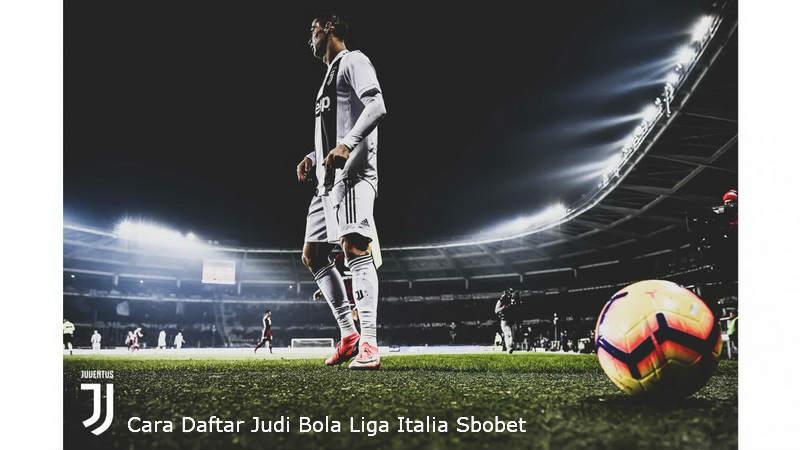 cara daftar judi bola Liga Italia Sbobet Online